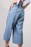 wide denim pants