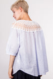 Kimberly lace tunic mint