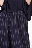 eva stipe trousers navy