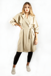 JANET TRENCH COAT BEIGE