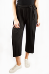 HANNAH PLEATED PANTS BLACK