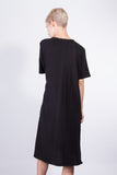 Side Slit Dress Black