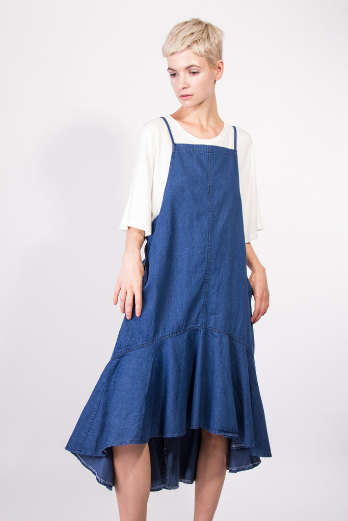 Katya Denim Dress Dark Blue