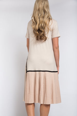 Demi Dress Beige
