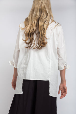 Crossover Shirt Ivory