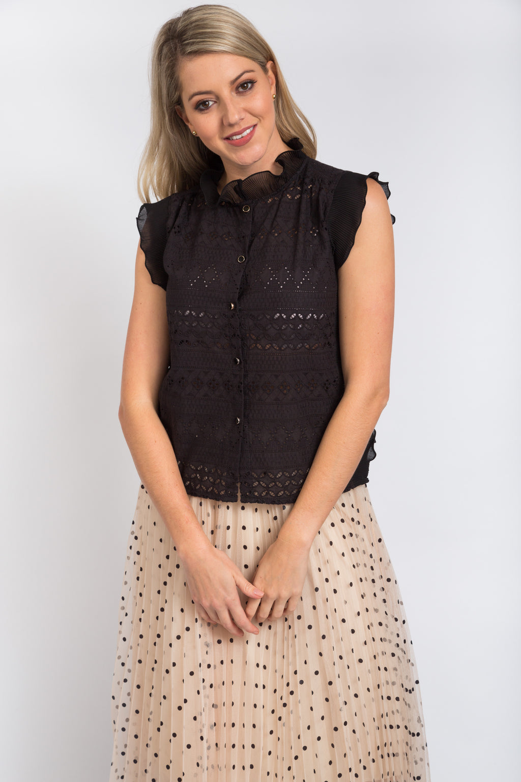 Gloria Top Black
