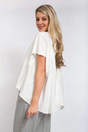 Back Button Top Ivory