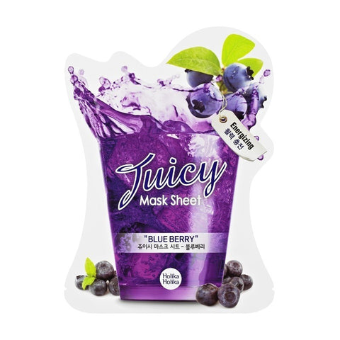 Blueberry Juicy Mask Sheet - Holika Holika