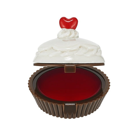 Dessert Time Lip Balm (Red Cupcake) - Holika Holika