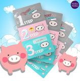 Pig Nose Clear Blackhead 3-Step Kit - Holika Holika