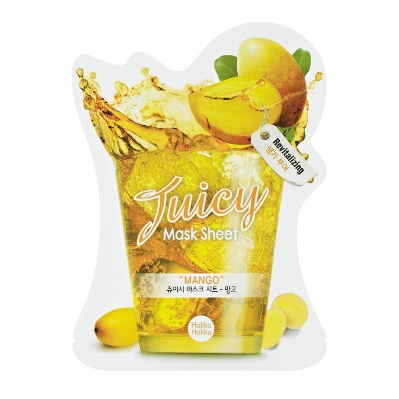 Mango Juicy Mask Sheet - Holika Holika