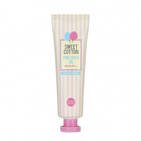 Sweet Cotton Pore Cover BB 01 (Soft Beige) - Holika Holika