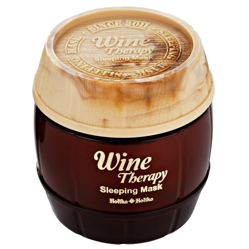 Wine Therapy Sleeping Mask (Red Wine) - Holika Holika