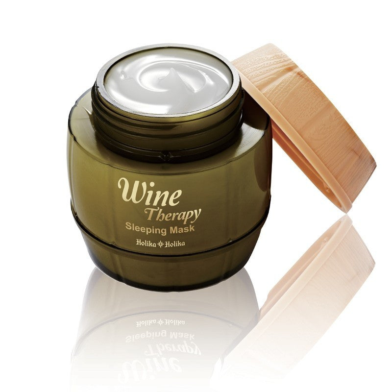 Wine Therapy Sleeping Mask (White Wine) - Holika Holika