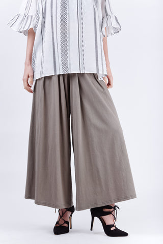 Susana Wide Pants Khaki