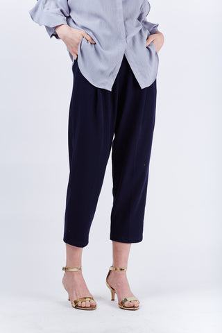 Drop Crotch Pants Navy