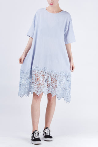 Zoe Lace Dress Mint