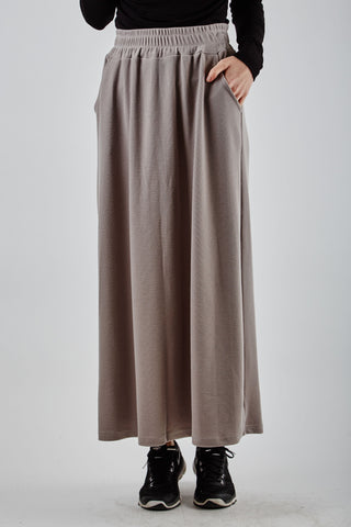 Perrie Long Skirt Beige