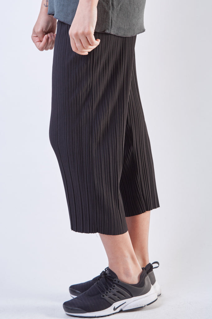 Pleated Pants Grey