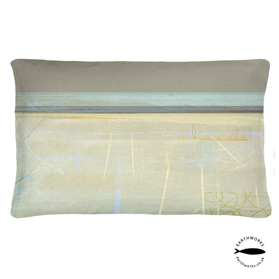 cushion - PAINTBOX GREY - CR004 - E A R T H W O R K S