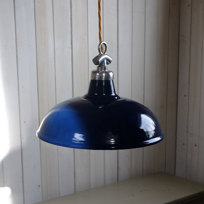 light - ENAMEL SHADE - dark blue