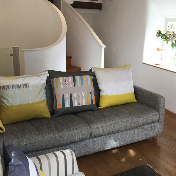 cushions and cushion covers Earthworks designer St Ives homewares
