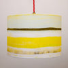 Designer Lampshades Earthworks St Ives. WAVES design.