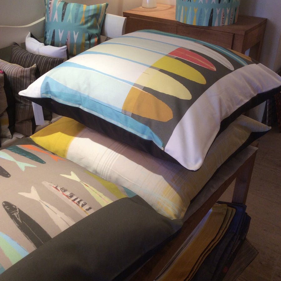 cushions and cushion covers Earthworks St Ives interiors homewares