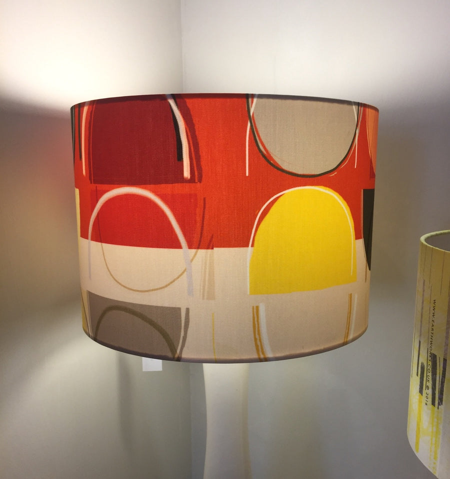 lampshade - LOBSTER POTS BAND RED - LS018 - E A R T H W O R K S