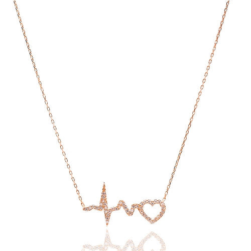 """Heartbeat"" Necklace"