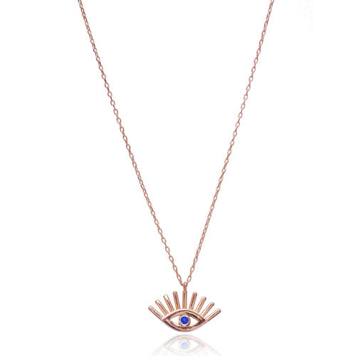 """Inna"" Evil Eye Necklace"