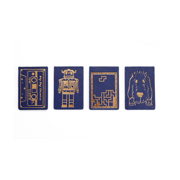 Travelcard Holder - Blue