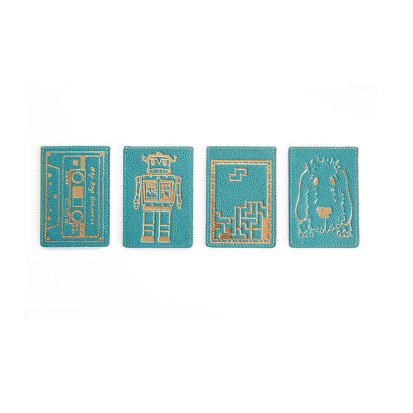 Travelcard Holder - Turquoise