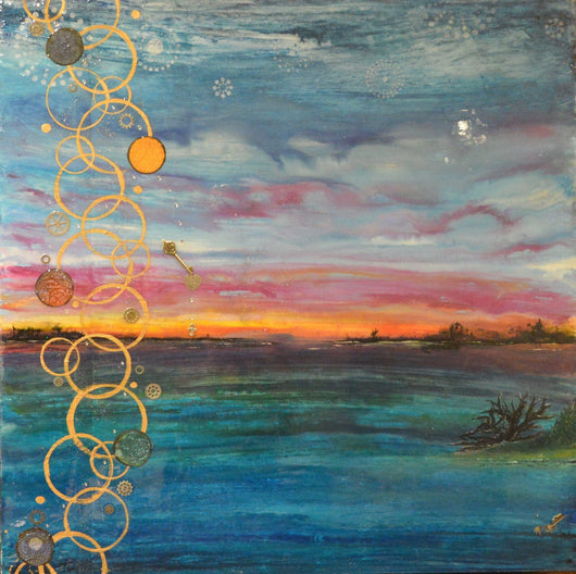 Giclee On Canvas - Reverse Horizon - Limited Edition Fine Art Giclee
