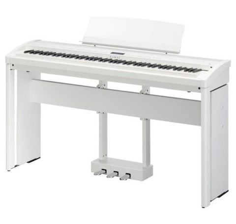 Kawai ES8 Digital Piano, HML4 Stand and F-301 Triple Pedal - White