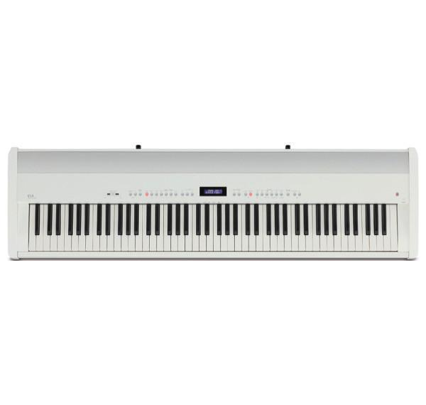kawai es8 digital piano hml4 stand and f 301 triple pedal white londonderry piano. Black Bedroom Furniture Sets. Home Design Ideas