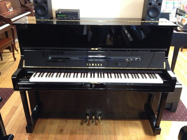 yamaha du1a 48 upright piano used londonderry piano. Black Bedroom Furniture Sets. Home Design Ideas