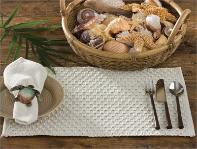 Chadwick Table Linen - Cream
