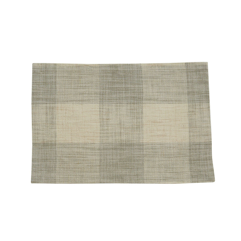 Chesney Plaid Table Linens- Natural