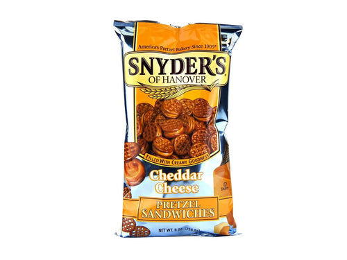 Cheddar Cheese Pretzel Sandwiches 8oz