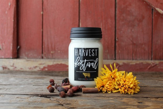 Farmhouse Mason Jar- 13 oz