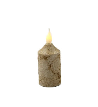 Birch Battery Candle