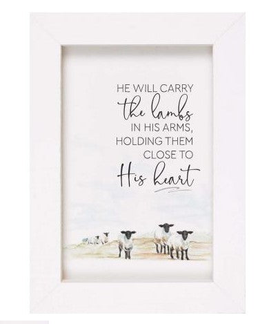 He Will Carry The Lambs
