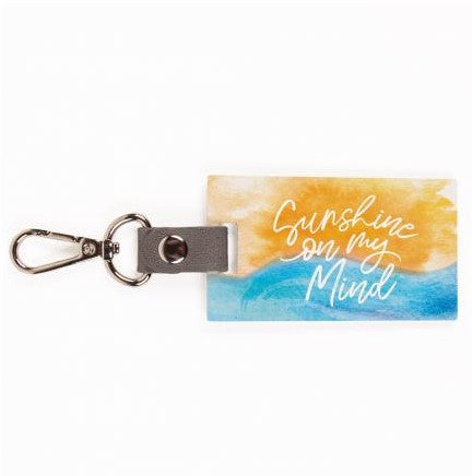 Sunshine On My Mind Key chain
