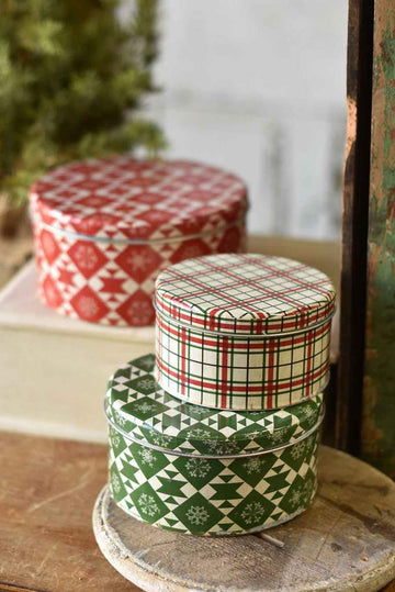 Deck The Halls Canisters | S/3
