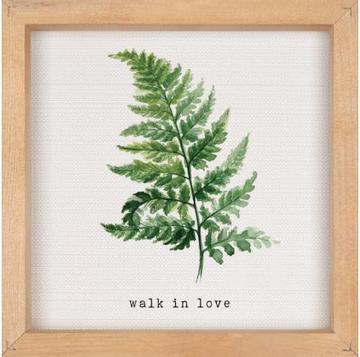 WALK IN LOVE - 10.75X10.75