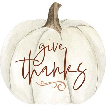 GIVE THANKS - 5.75X6