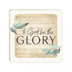 To God Be The Glory | Coaster