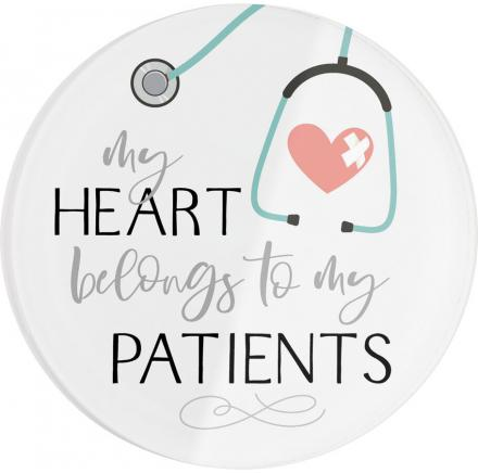 My heart belongs to my patients | Coaster