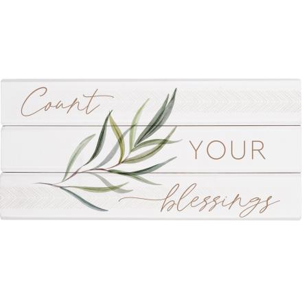 Count Your Blessings | Word Block